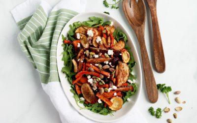 Vibrant & Nourishing Roasted Root Vegetable Salad