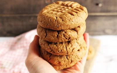 Chewy, Flour-free Peanut Butter Cookie Recipe