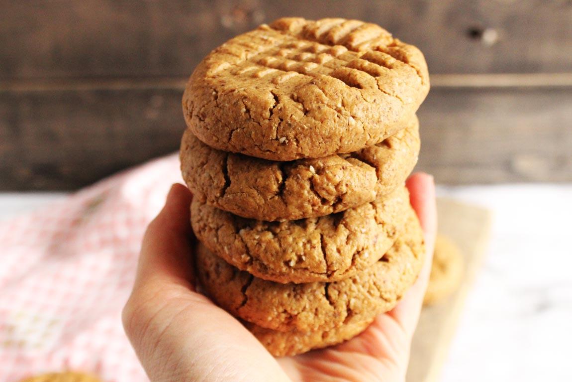 flour-free peanut butter cookies
