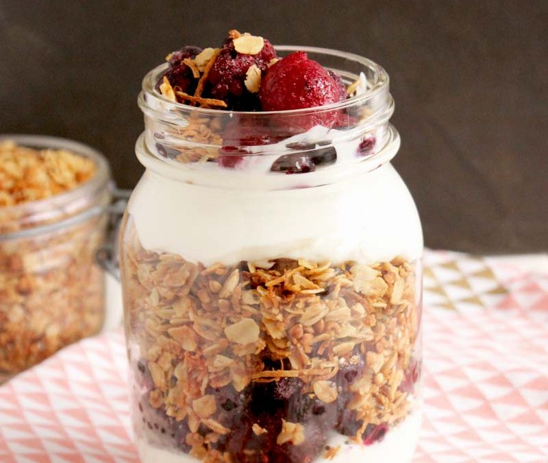 Easy Toasted Coconut Granola (Parfait Recipe Included)5 min read