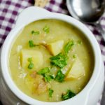 best vegan potato leek soup