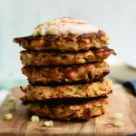 gluten-free corn and zucchini fritters