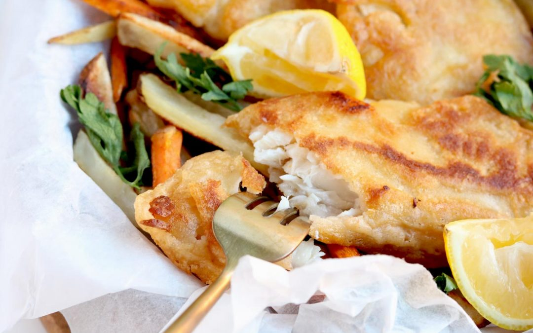 Lighten Up Your Fish & Chips With This Healthy Fish Batter Recipe