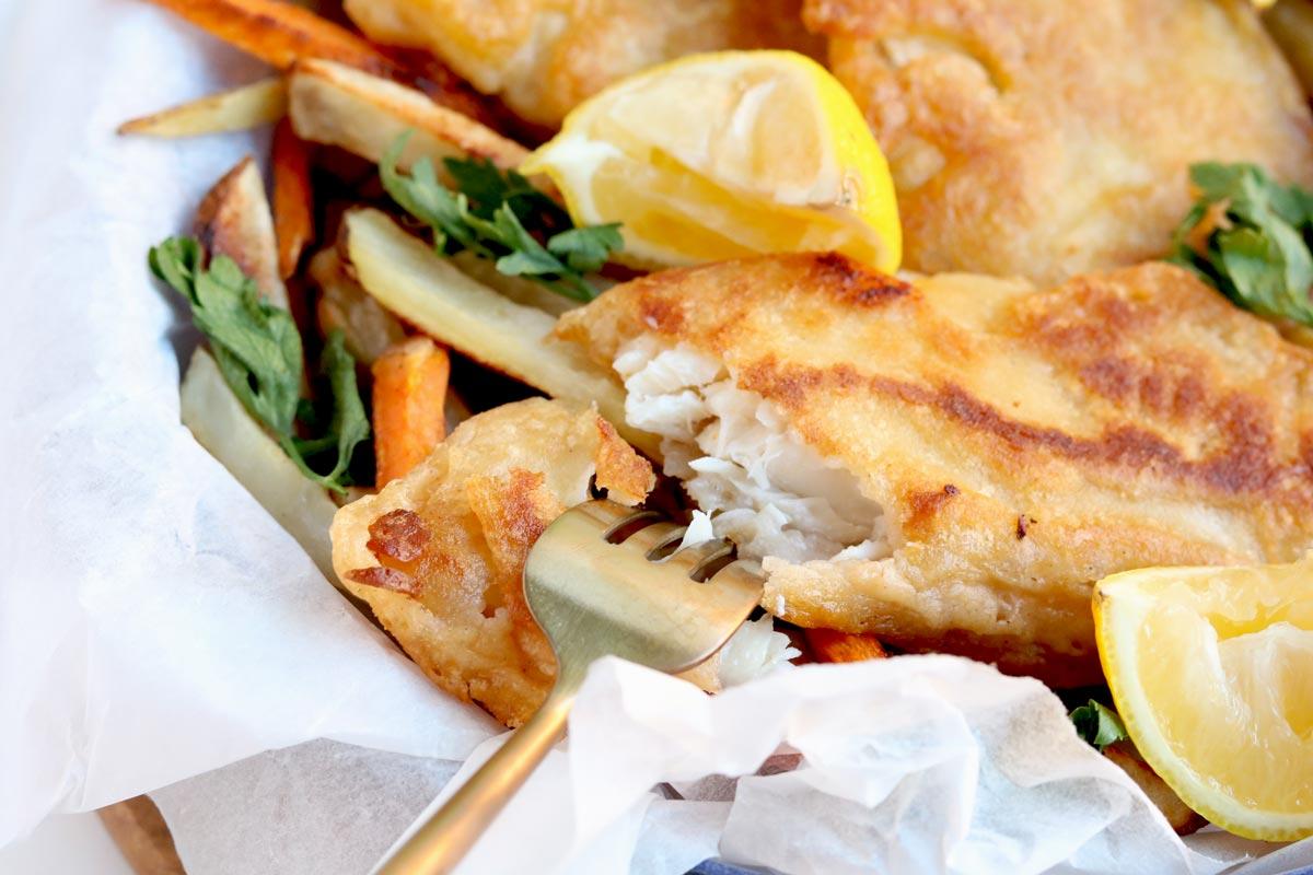 healthy fish batter