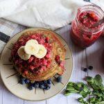 dairy-free buckwheat pancakes