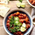 Crock pot vegan sweet potato chili