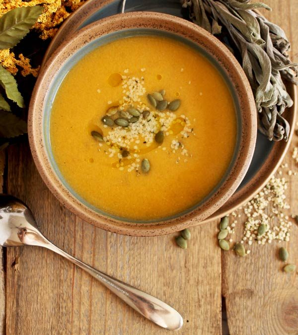 Creamy Vegan Butternut Squash Soup Recipe