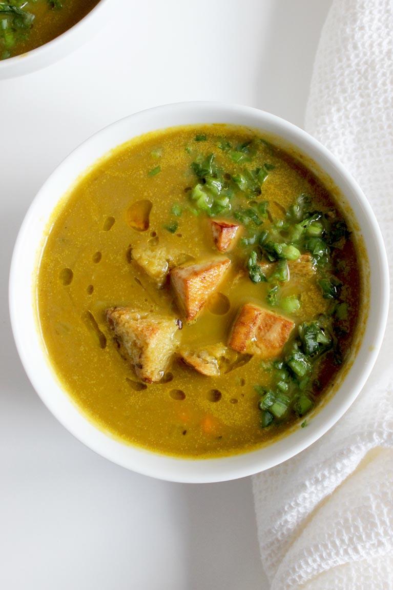 leek and vegetable soup