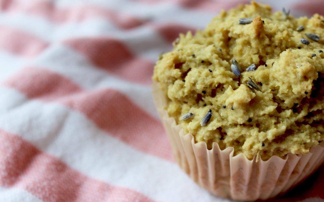 Gluten-Free Lemon, Lavender & Poppyseed Anti-Anxiety Muffins