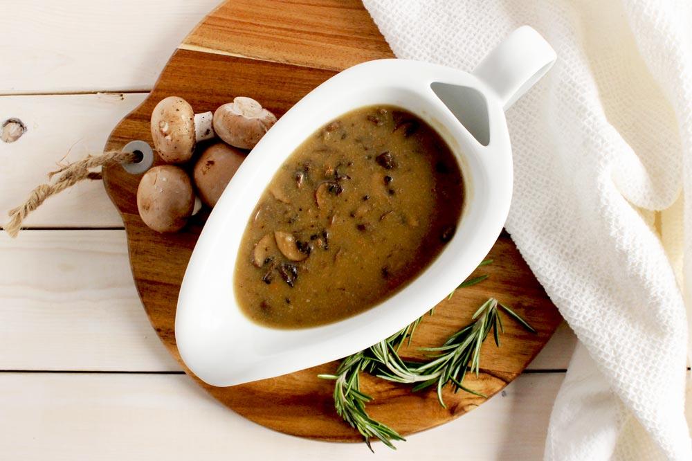 Vegan Gluten-Free Mushroom Gravy