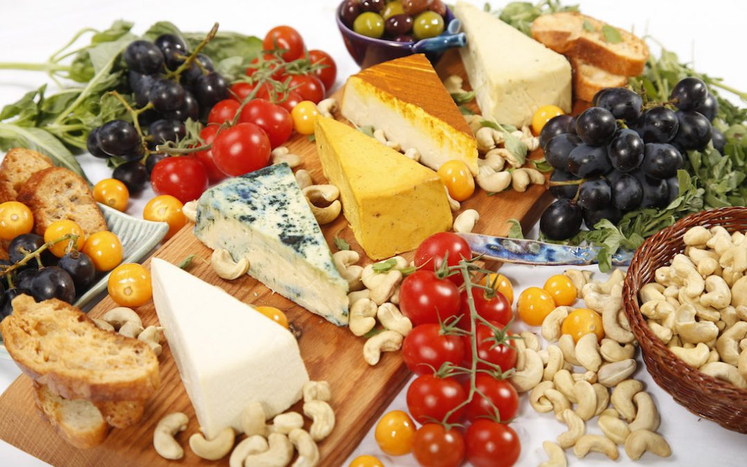 Nuts for Cheese Board
