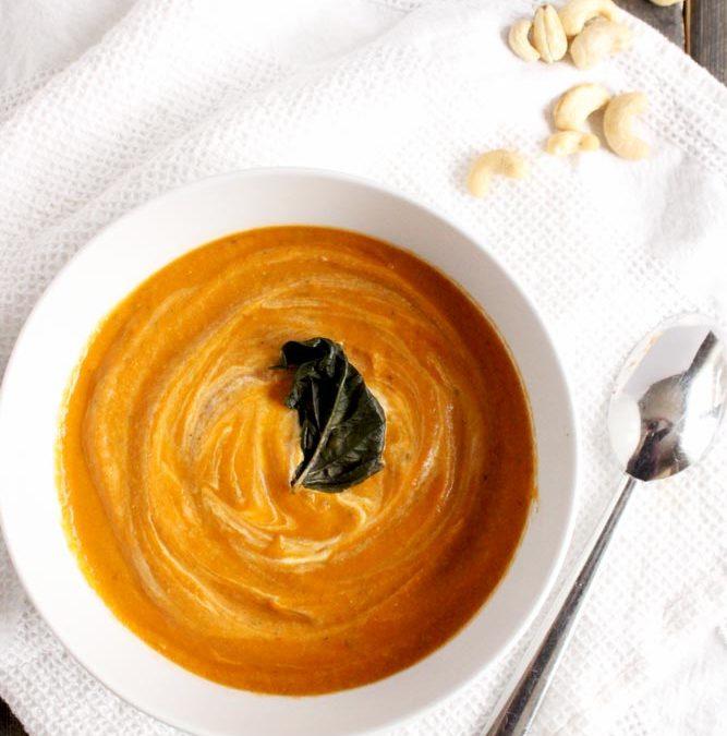 Cashew Cream Tomato Soup4 min read