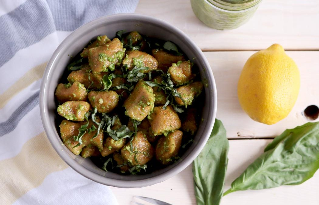 Vegan Butternut Squash Gnocchi With Antioxidant Pesto
