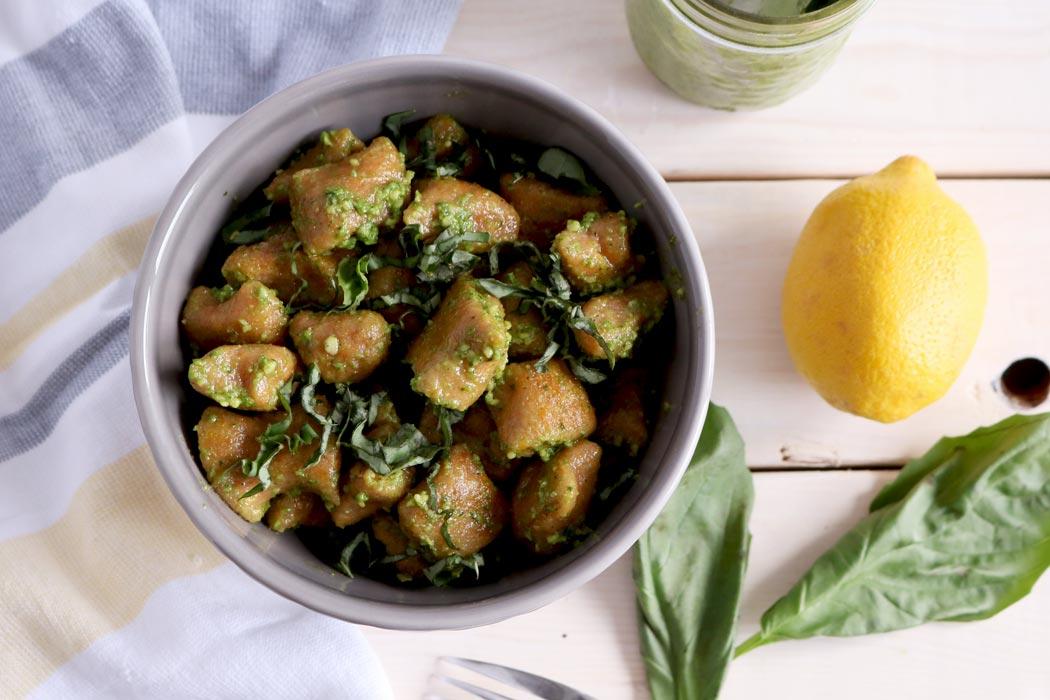 vegan butternut squash gnocchi