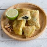 spinach fatayer recipe with yuca root