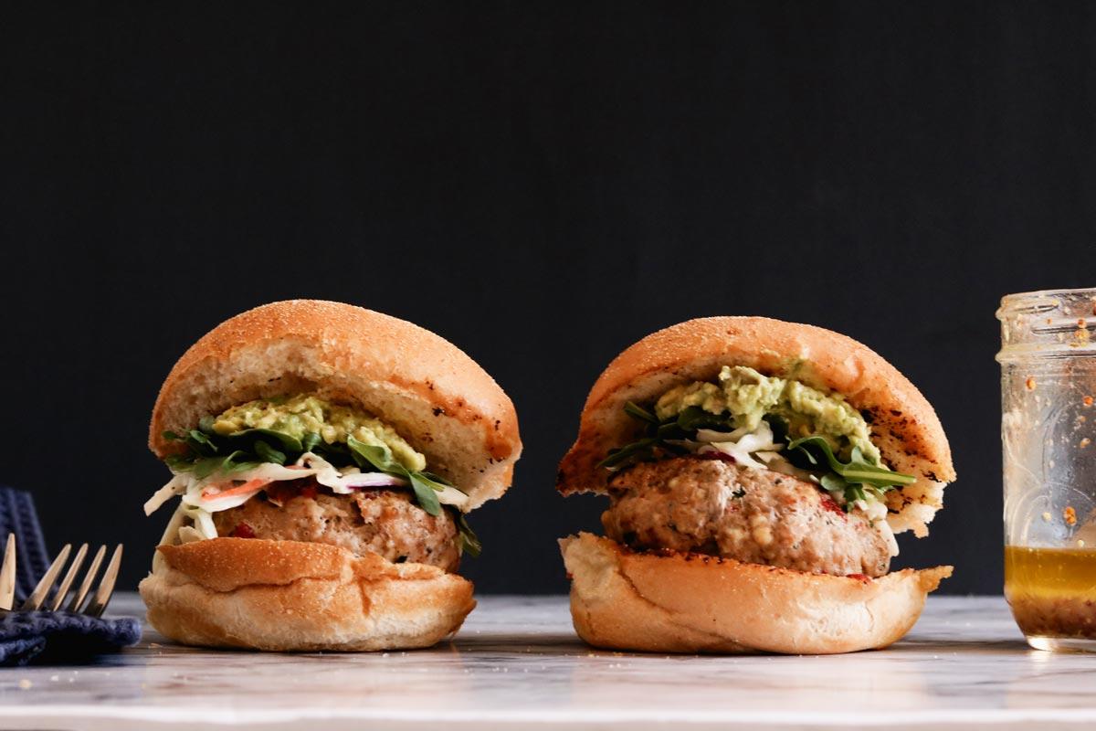 gluten-free turkey burger