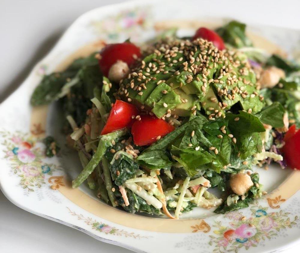 mayo-free coleslaw