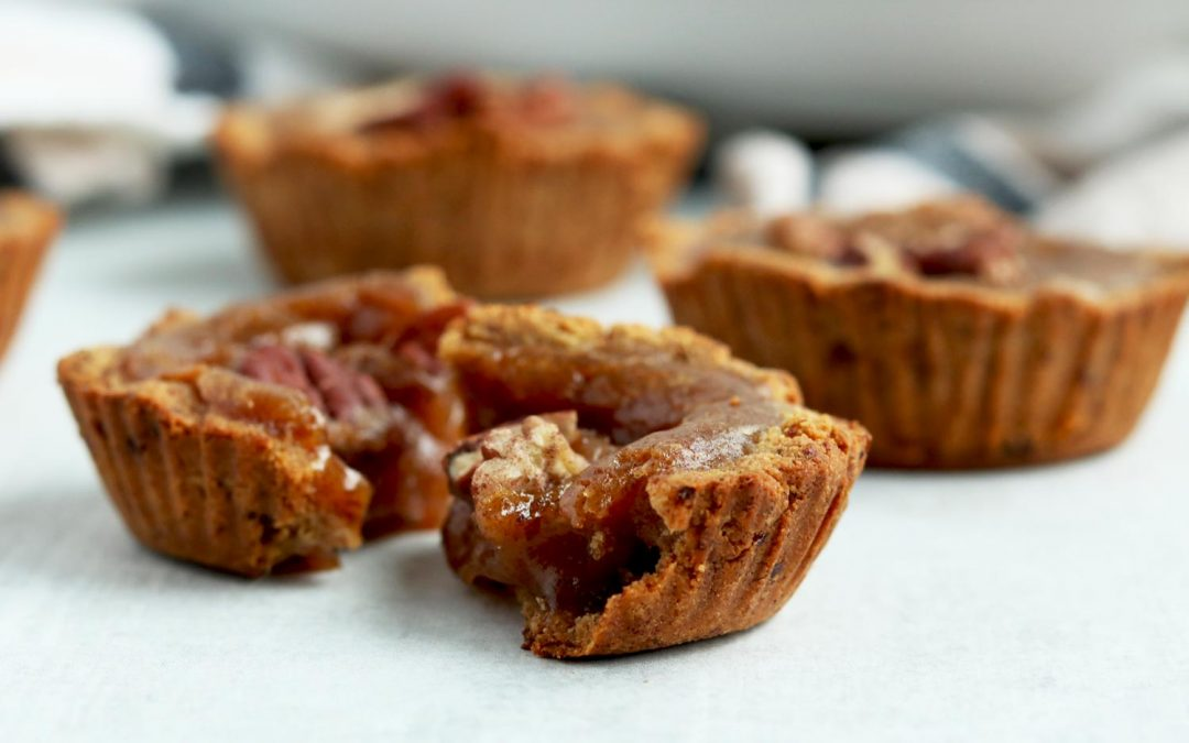 Butter-less Vegan Butter Tarts (Grain-free/ Paleo)