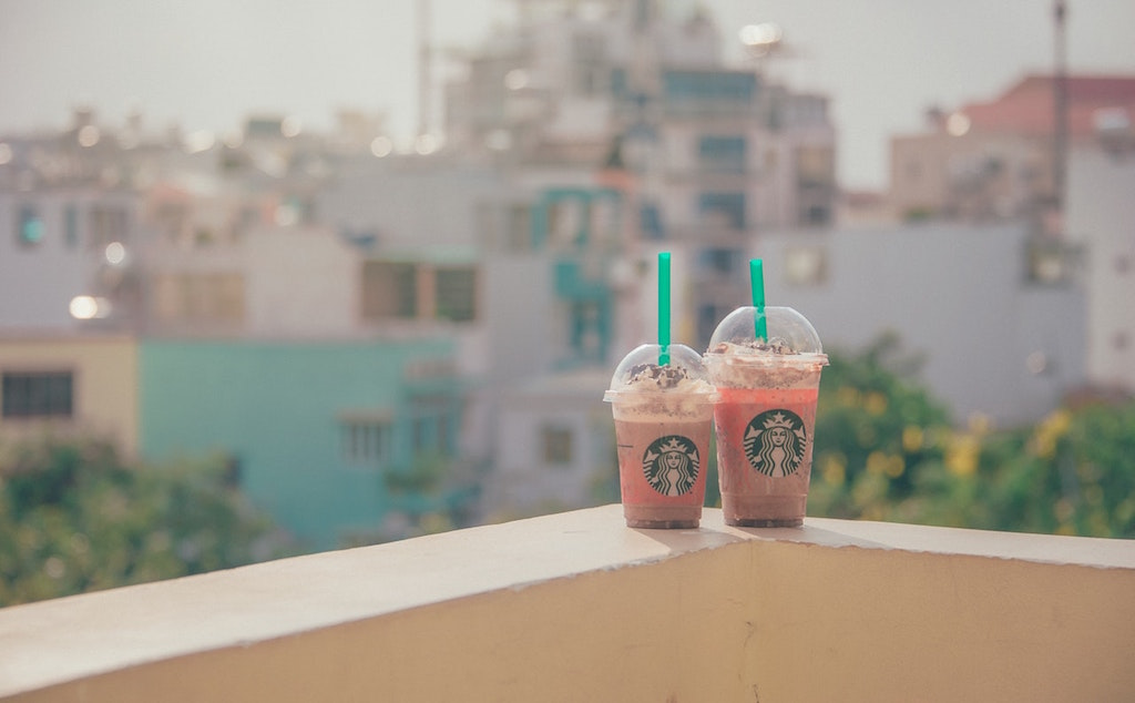 I gave up starbucks to lose weight