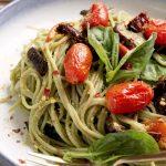 Gluten-free pesto pasta