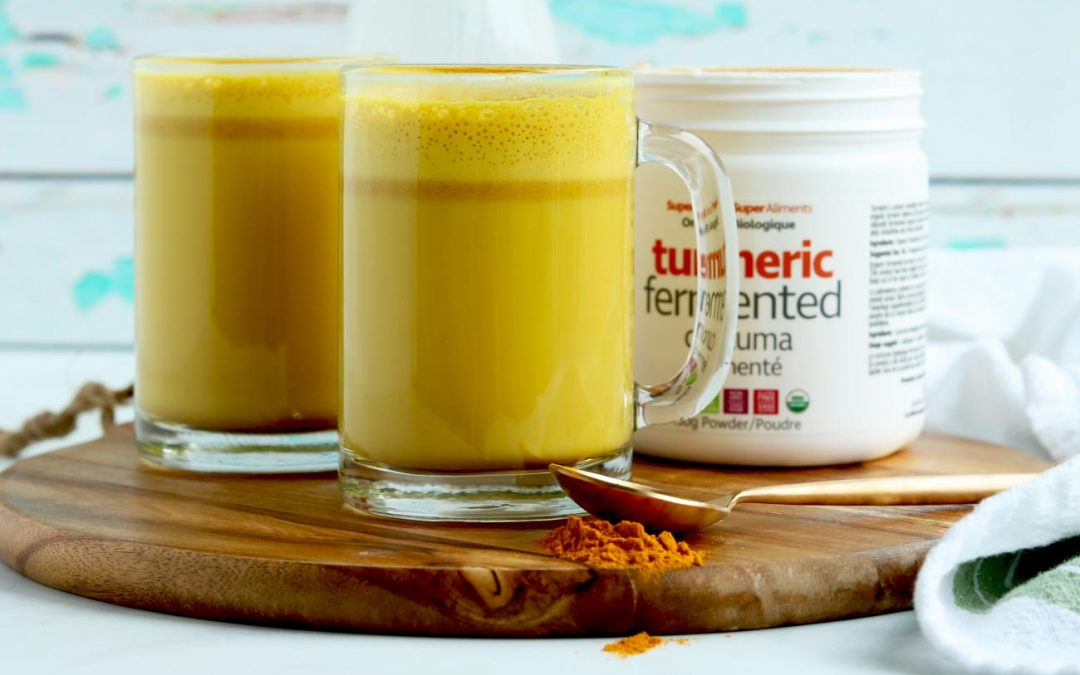 How To Make Fermented Turmeric & CBD Infused Latte