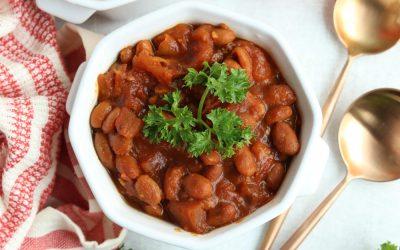 Healthy Slow Cooker Heinz Baked Beans Recipe