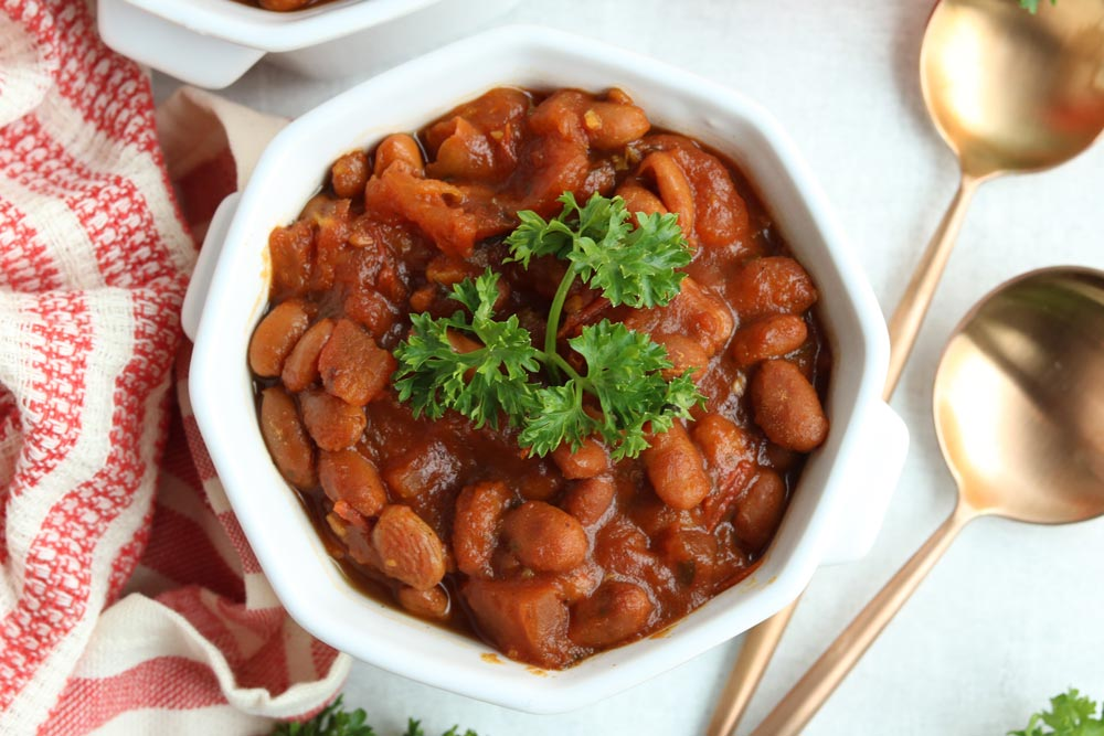 Healthy Slow Cooker Heinz Baked Beans Recipe