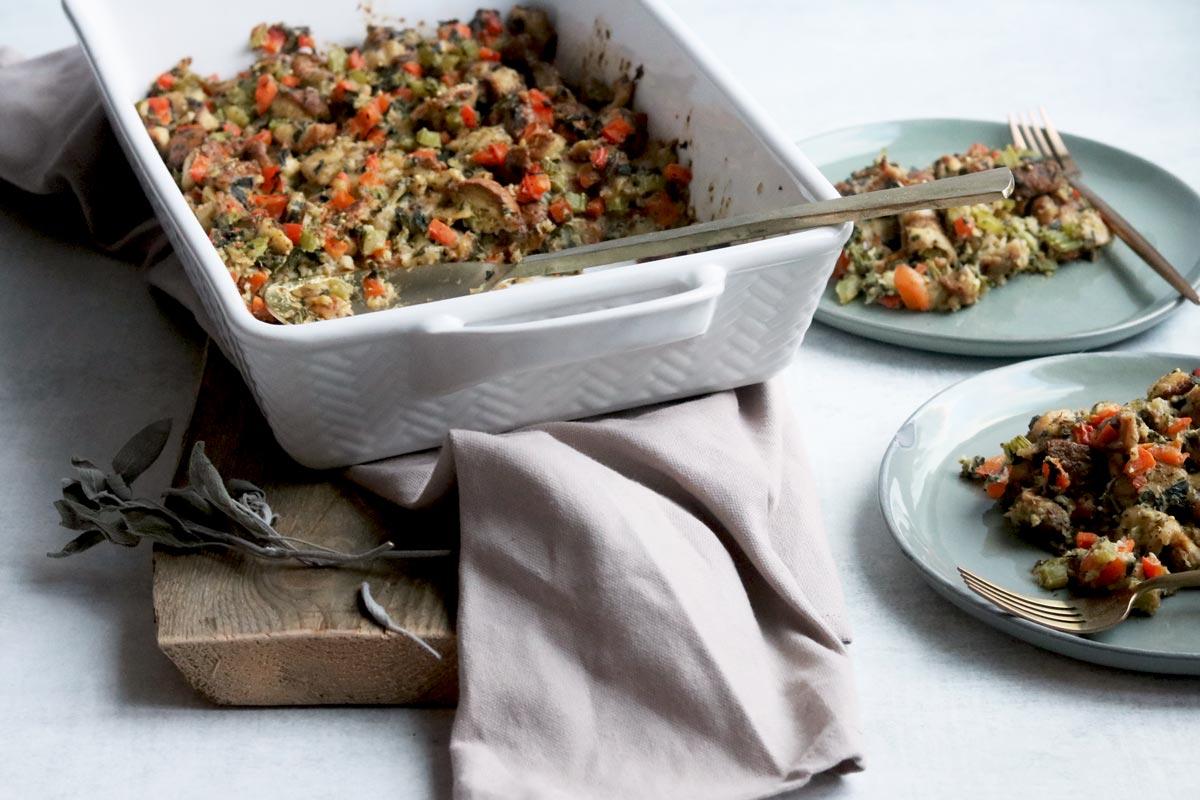 gluten-free vegetarian stuffing
