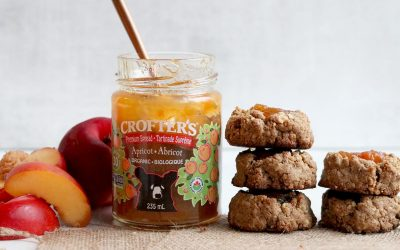 Chai Spiced Gluten-free Thumbprint Cookies With Apricot Jam