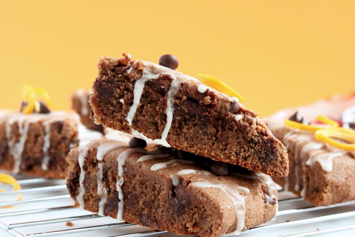 Gluten-free chocolate scones