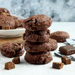Double Chocolate & Coconut Paleo Cricket Cookies