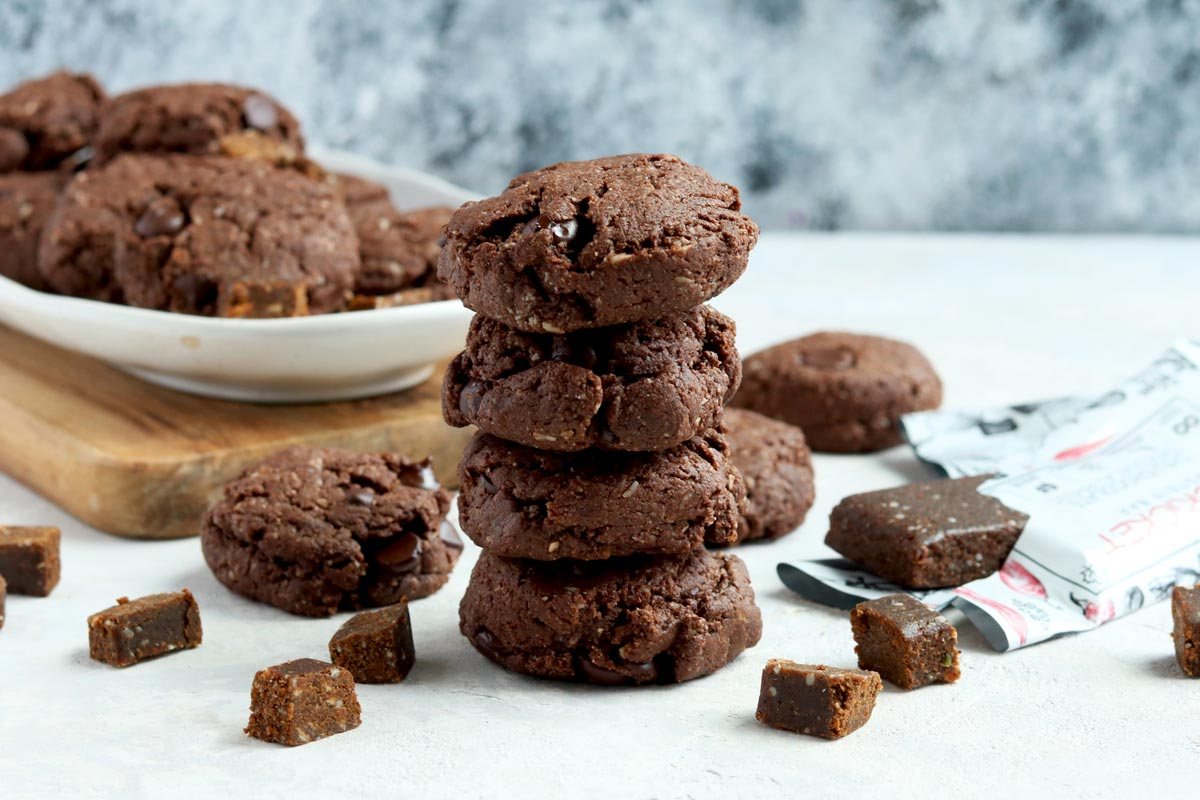 Double Chocolate & Coconut Paleo Cricket Cookies