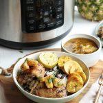 Pineapple-jerk-chicken-in-a-marinade-#paleodinner-#paleorecipes-#jerkchickenrecipes-pressure-cook-crock-pot-express-crock5