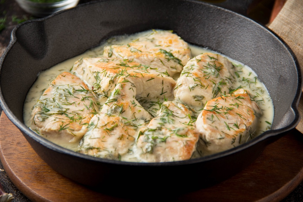 One Pan Coconut Lime Chicken With Garlic & Ginger