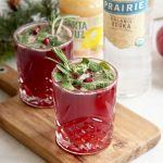 Kombucha & Mulled Mint with Prairie Organic Vodka